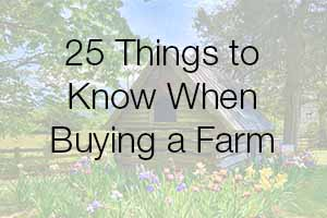 Buying a Virginia Farm or Estate